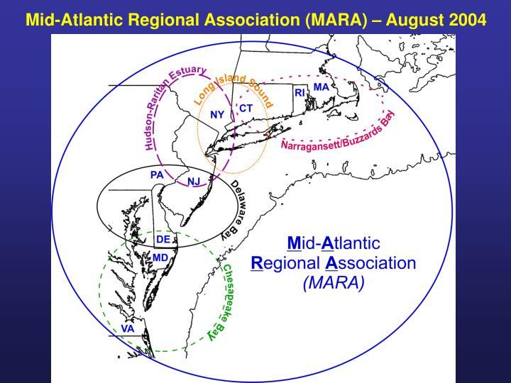 Mid-Atlantic Regional Association (MARA) – August 2004