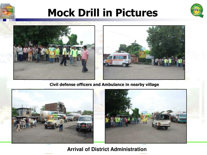 Mock Drill in Pictures