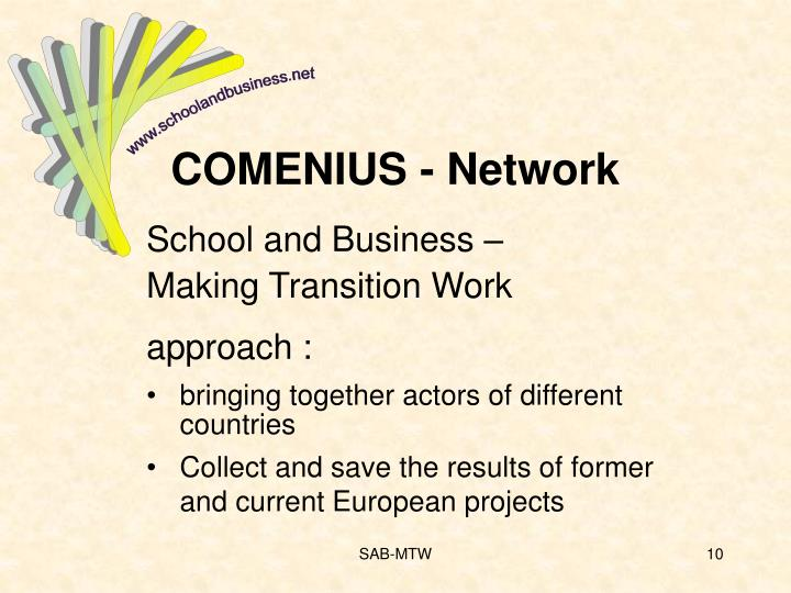 COMENIUS - Network