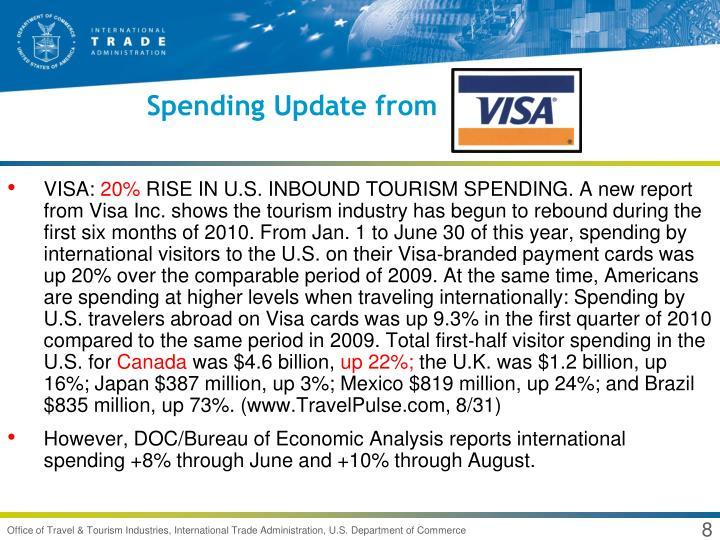 Spending Update from