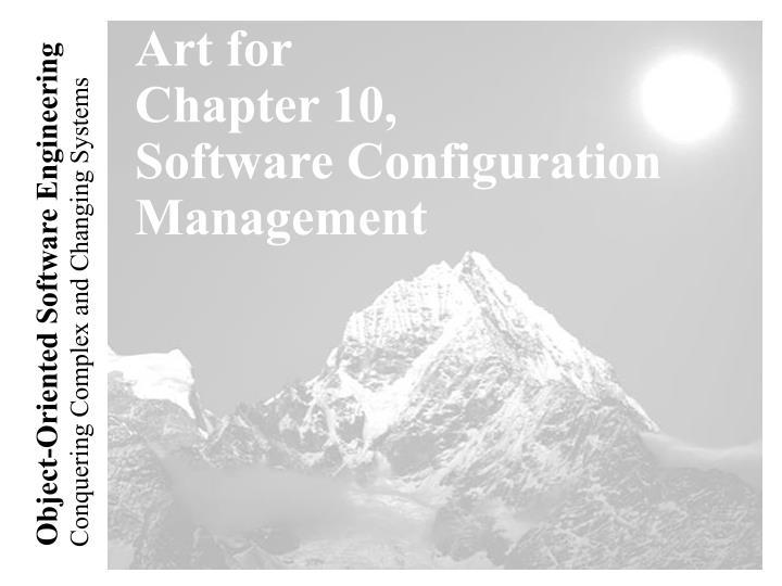 art for chapter 10 software configuration management n.