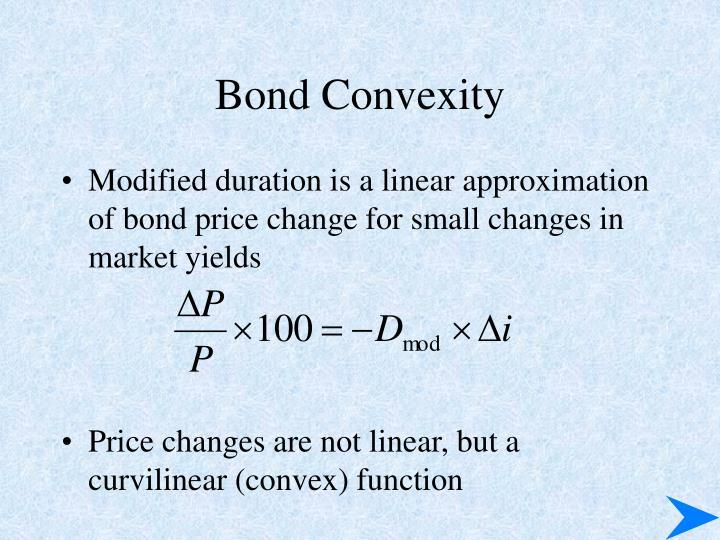 Bond Convexity