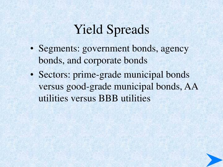 Yield Spreads
