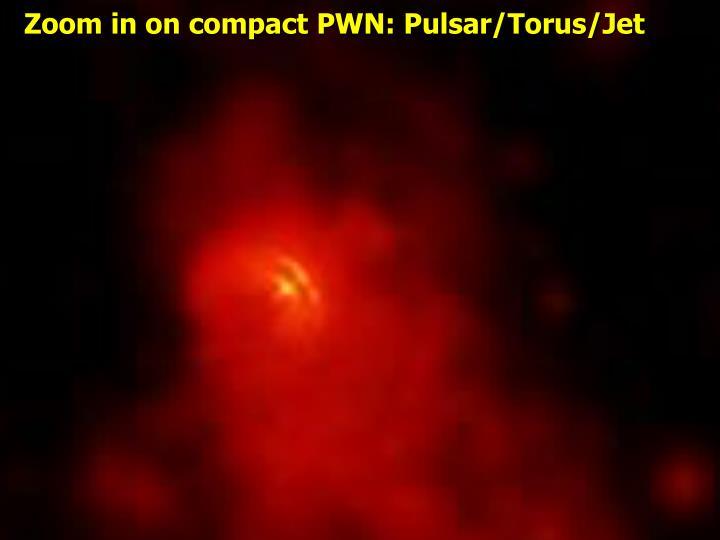 Zoom in on compact PWN: Pulsar/Torus/Jet