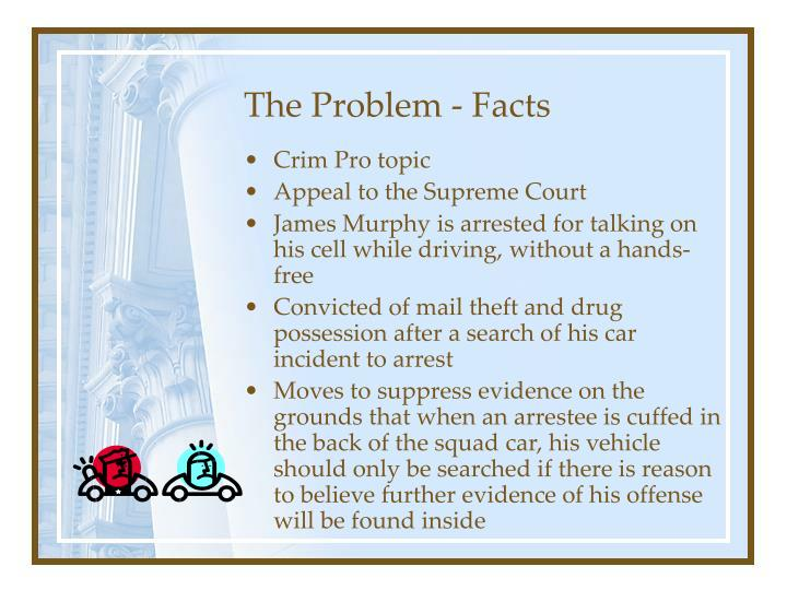 The Problem - Facts
