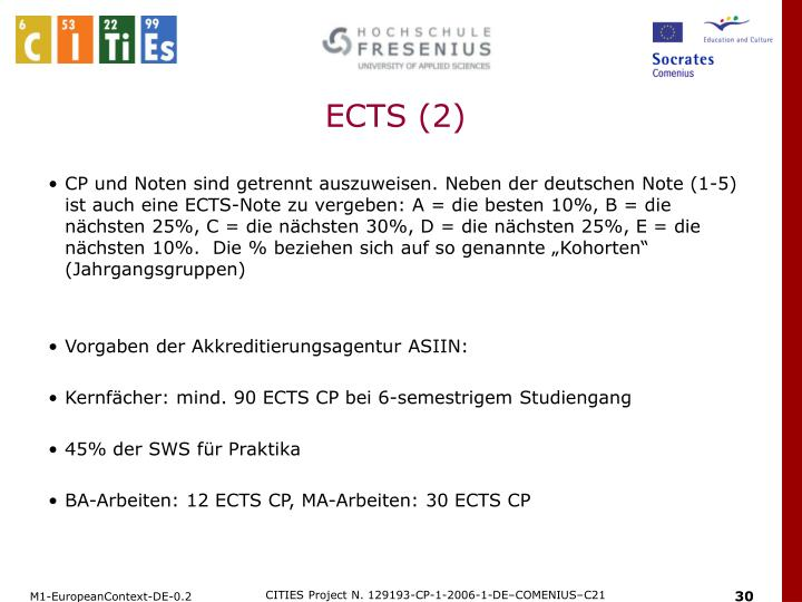 ECTS (2)