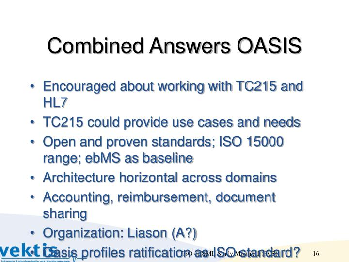 Combined Answers OASIS