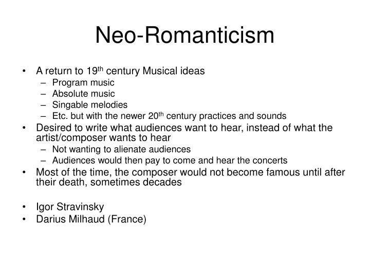 Neo-Romanticism