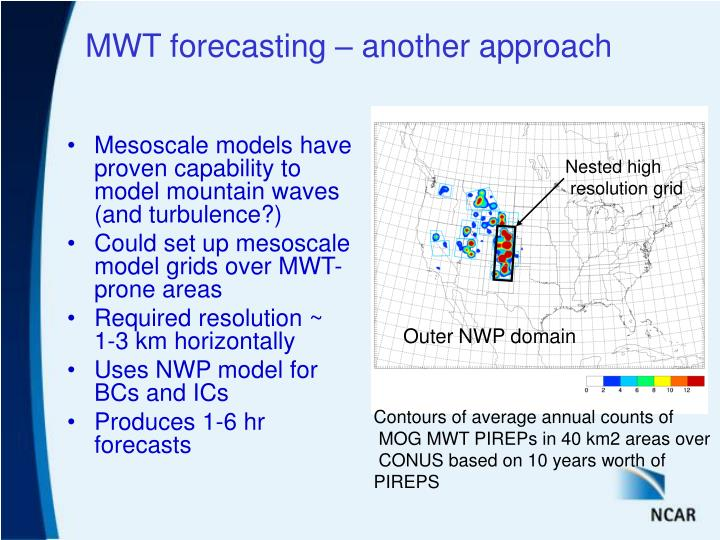 Mwt forecasting another approach
