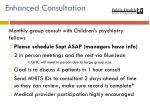 enhanced consultation