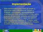 implementa o2