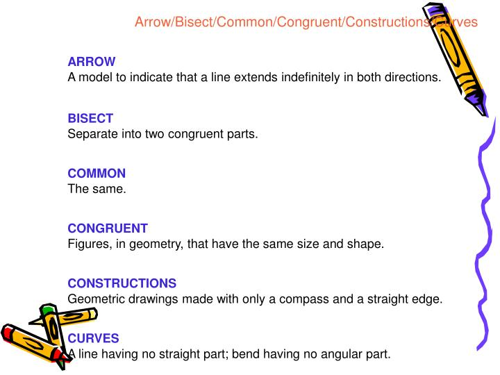 Arrow/Bisect/Common/Congruent/Constructions/Curves