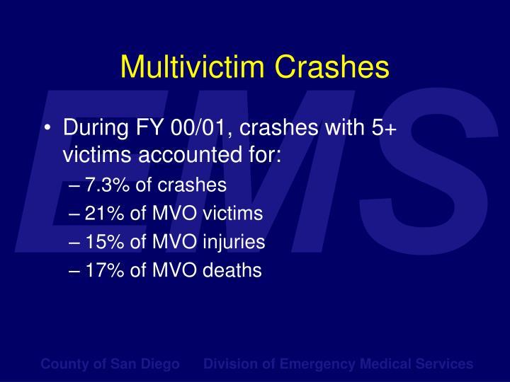 Multivictim Crashes