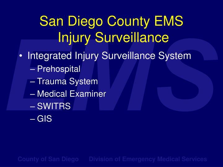 San Diego County EMS