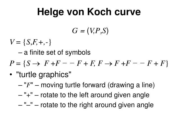 Helge von Koch curve