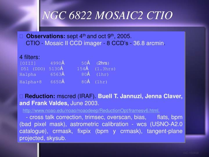 NGC 6822 MOSAIC2 CTIO
