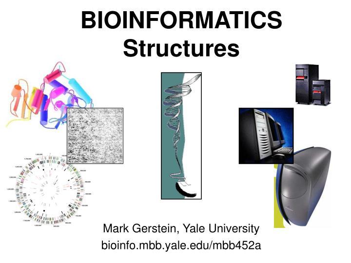 bioinformatics structures n.