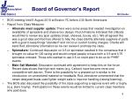 board of governor s report1