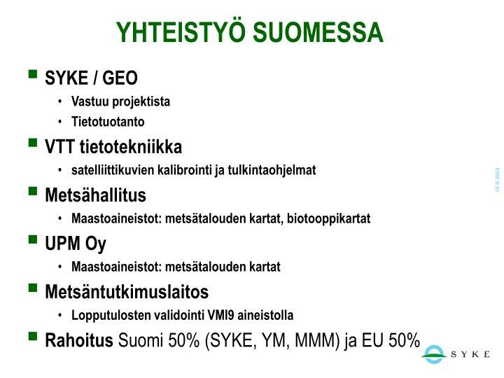 Yhteisty suomessa