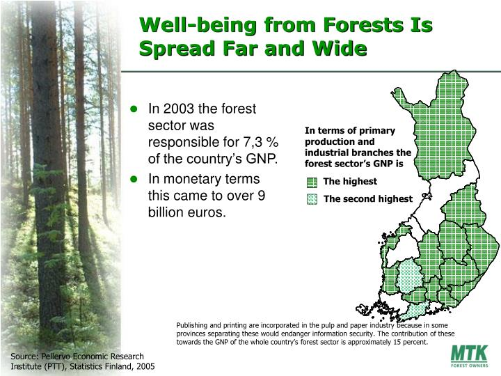 Well-being from Forests Is Spread Far and Wide