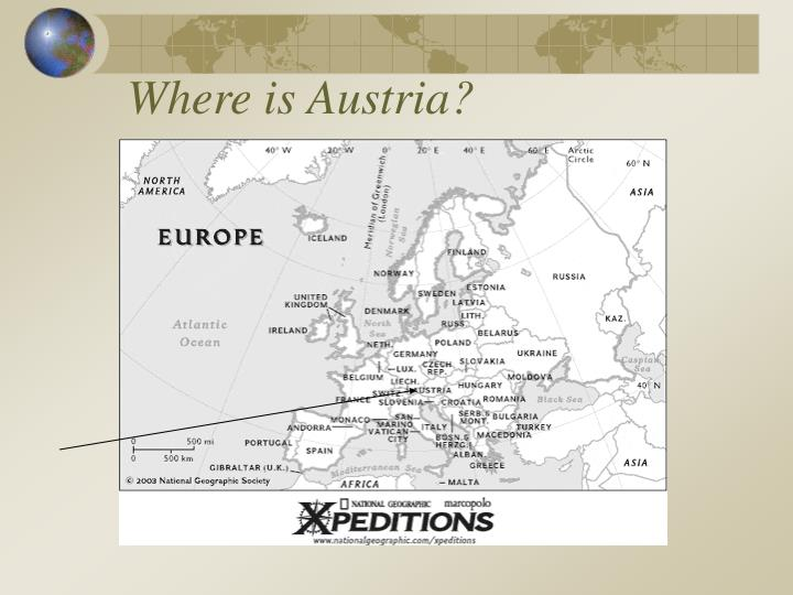 Where is austria