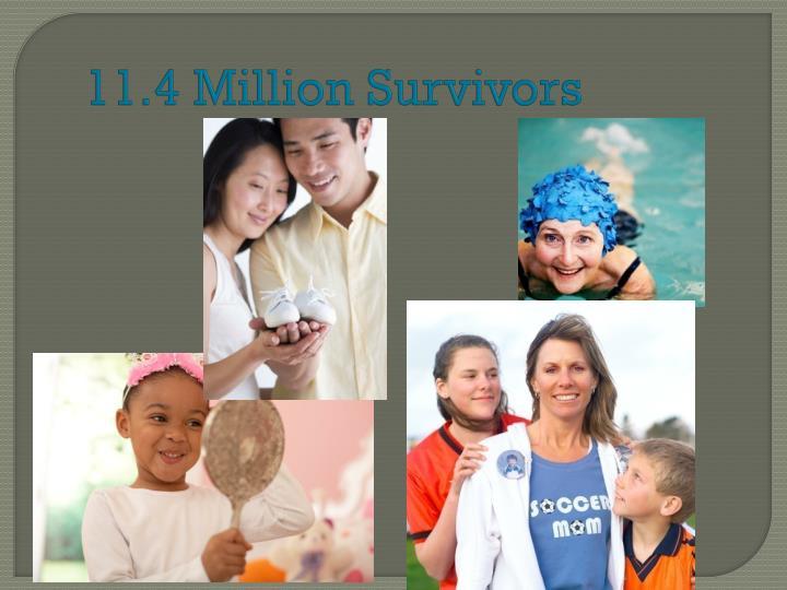 11.4 Million Survivors