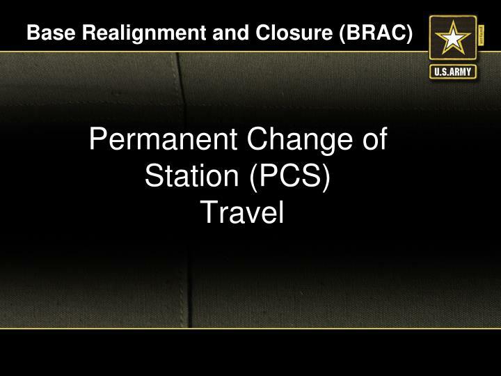 Base realignment and closure brac
