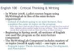 english 100 critical thinking writing1