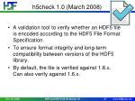 h5check 1 0 march 2008