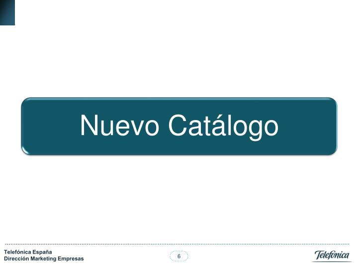 Nuevo Catálogo