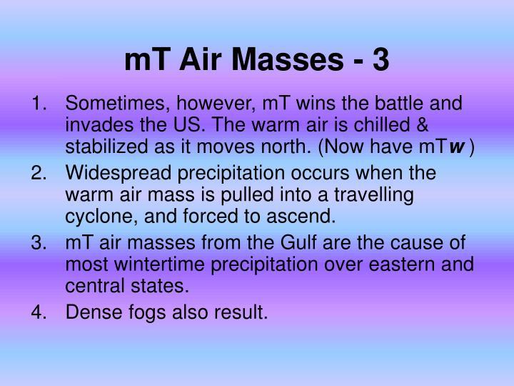mT Air Masses - 3