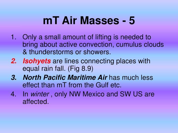 mT Air Masses - 5