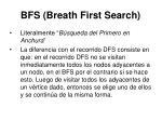 bfs breath first search