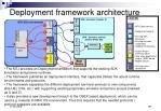 deployment framework architecture