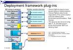 deployment framework plug ins
