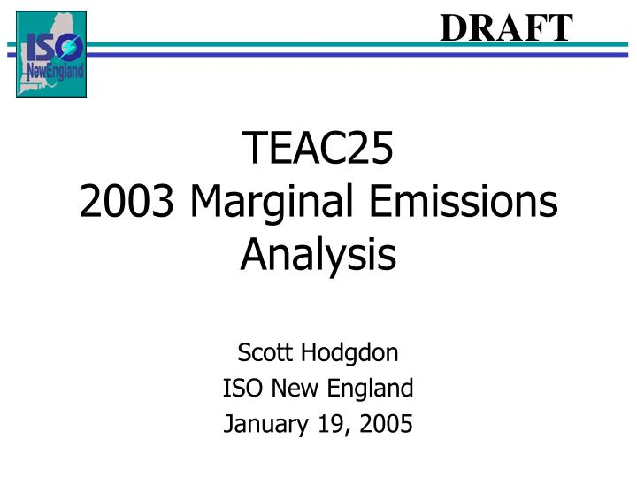 teac25 2003 marginal emissions analysis n.