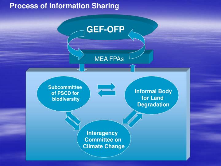 Process of Information Sharing