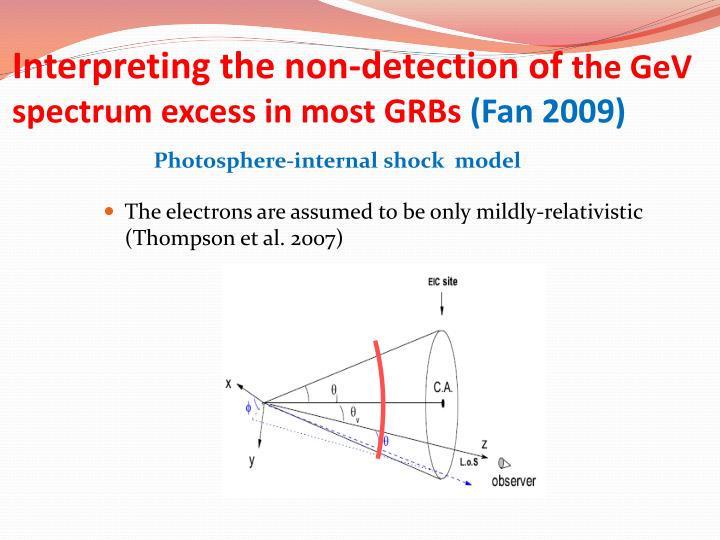 Interpreting the non-detection of