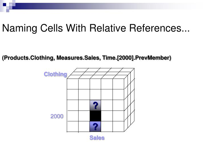 Naming Cells With Relative References...