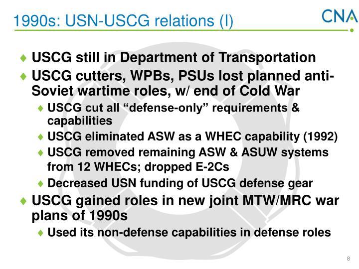 1990s: USN-USCG relations (I)