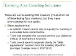 existing ajax crawling solutions2