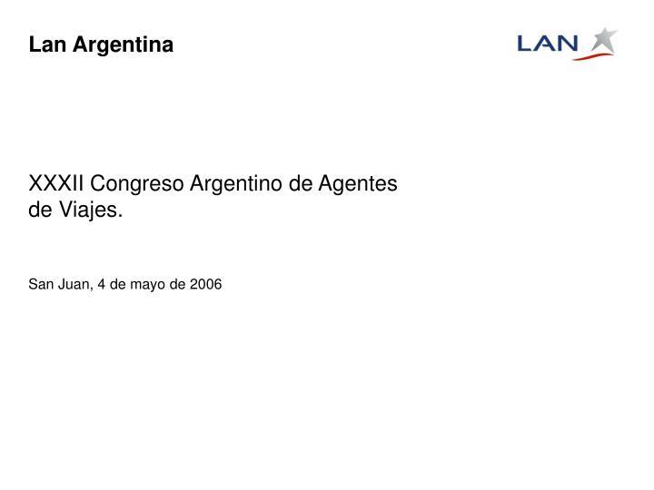 lan argentina n.