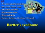 bartter s syndrome