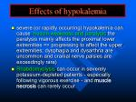 effects of hypokalemia1