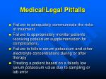 medical legal pitfalls