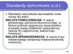 standardy rachunkowe c d