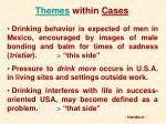themes within cases