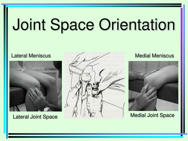 Joint Space Orientation
