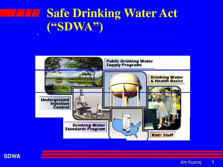 an analysis of the safe drinking water act sdwa Drinking water analysis guide  public law 93-523 the safe drinking water act (sdwa) to protect public health by regulating  disrupt the supply of safe .