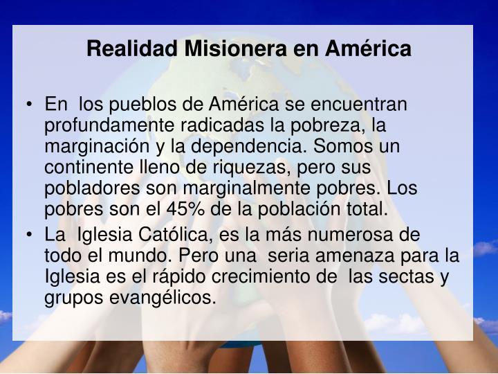 Realidad Misionera en Am